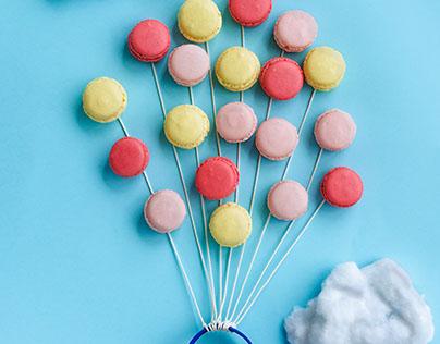 Food Photography - Macarons