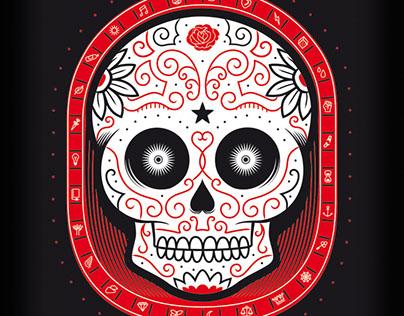 Skull t-shirt / Camiseta calavera
