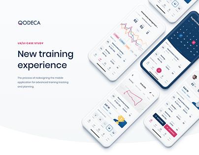TrainingPeaks Mobile Application Redesign Concept