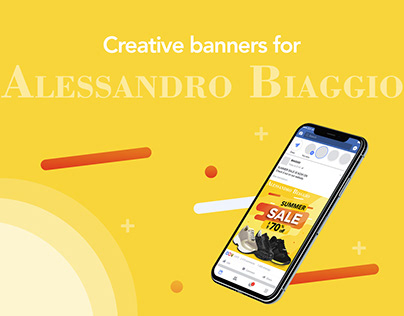 Creative web banners   Summer sale