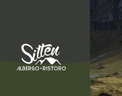 Sitten: albergo/ristoro logotype