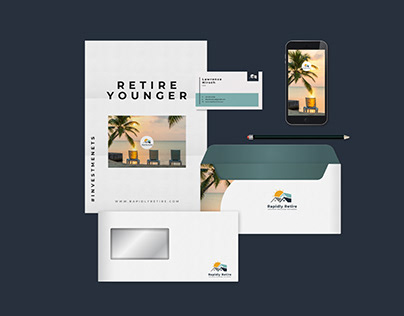 Corporate Identity for a Realestate Agency.