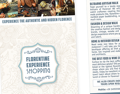 Florentine Experience Shopping