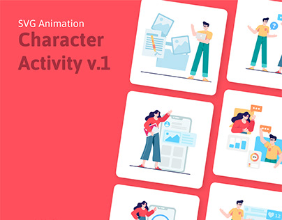 Character Activity | SVG Animation