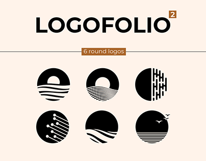 LOGOFOLIO | 6 round logos