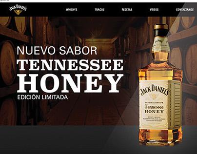 Página Web - Jack Daniels Tennessee Honey