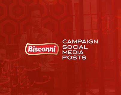Bisconni | Social Media Posts | Campaign