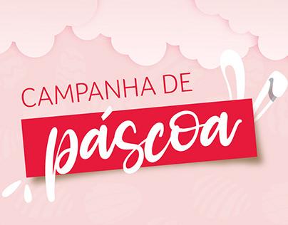 CAMPANHA DE PÁSCOA // CURSOS LIVRES