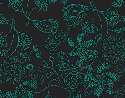 Lace Floral Textile