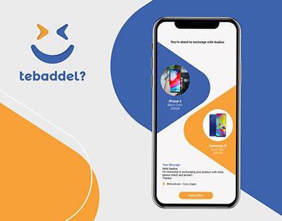 Tebaddel - Brand & App design