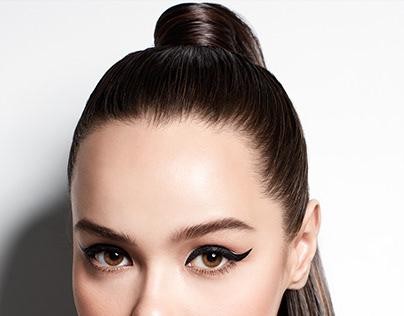 Make Over Hyperblack Superstay Liner Cosmetics Ad