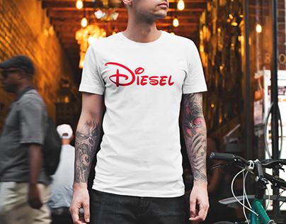 Disney-Diesel | Graphic Design