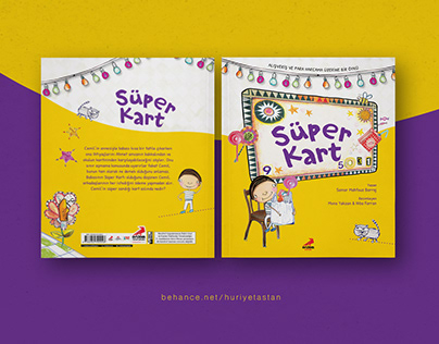 Children Book Cover Design | Süper Kart