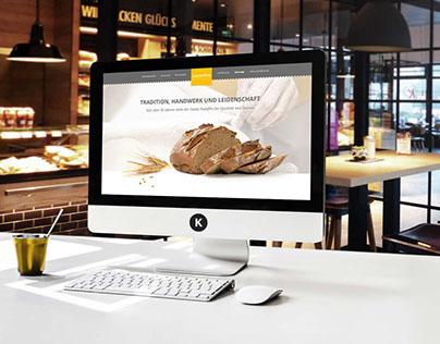 padeffke | der meisterbäcker | Website Redesign