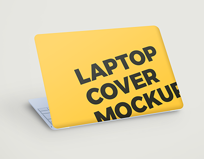 Laptop Cover Mockup