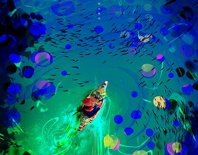 Acid sea