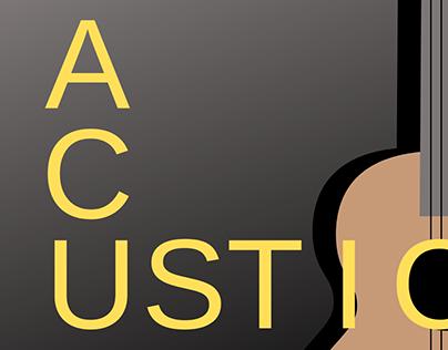 Acustic music case