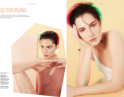 """IN THE FLESH"" for Iris Covet Book"