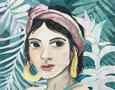 Watercolor - Flowers & plants