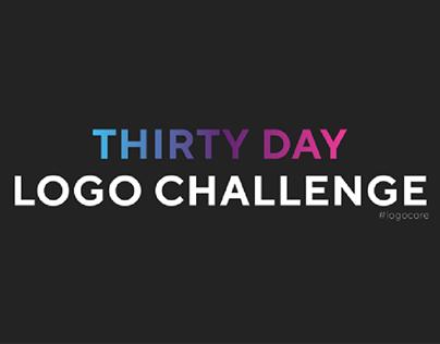 Thirty Day Logo Challenge #logocore