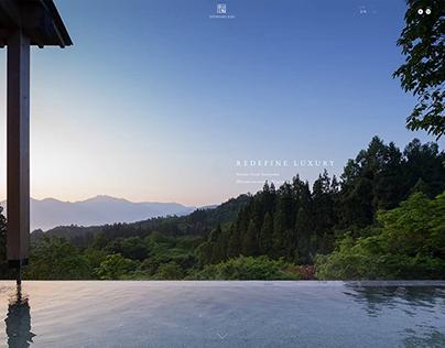 english web design for Satoyama Jujo