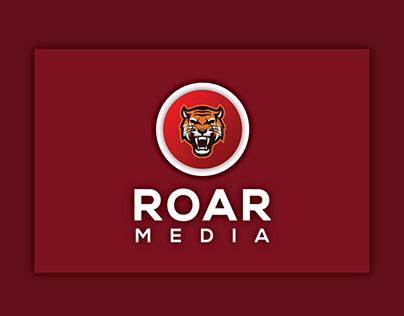 """""""ROAR MEDIA"""" LOGO"""