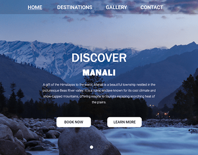 Travel & tour website Design