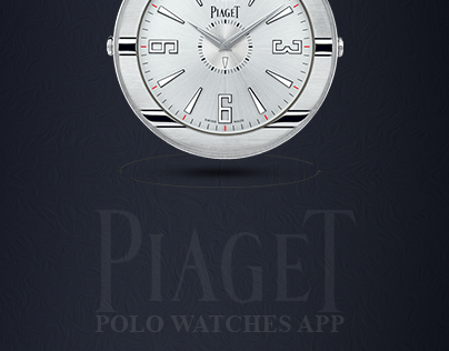 Piaget Polo Watches App Design