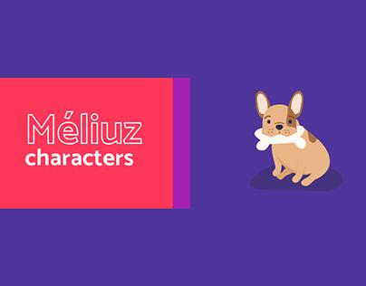 Méliuz Characters