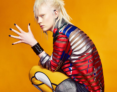 Fashion Styling for Intercoiffure Ukraine Campaign