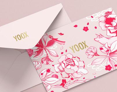 YOOX Chinese NY Card