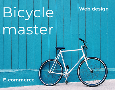 Bycicle shop web design