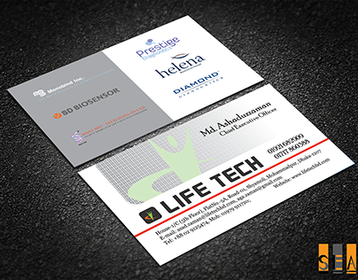 Business Card for Life Tech