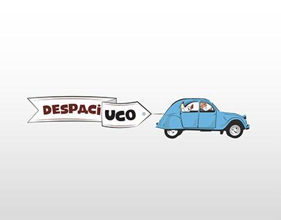 DESPACIUCO. Brand, Illustration & Flyer. Uco Valley.