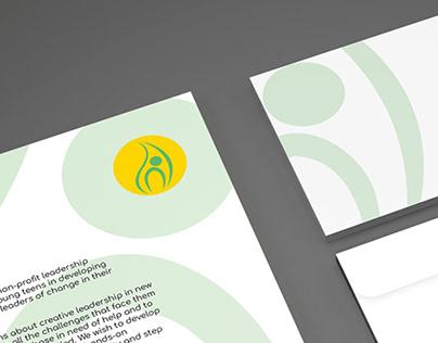 Leaf Leadership, Logo & Business Card