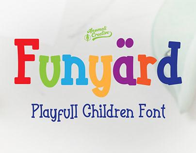 Playfull Kids Style font for Children's Book
