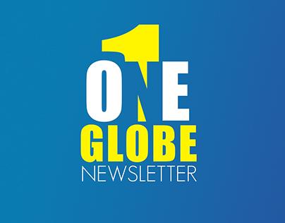 Globe Telecom - One Globe Newsletter Logo