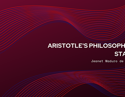 Aristotle's Philosophical Stance