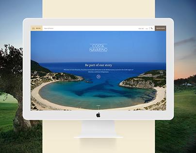 The Enhanced Costa Navarino Website