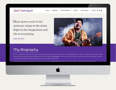 Music Director Website