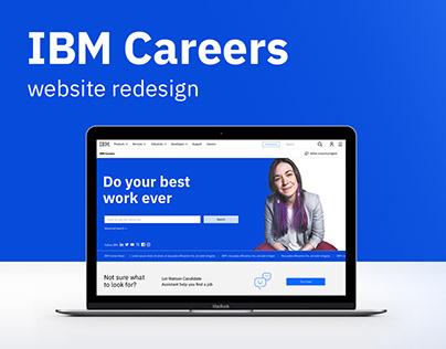 IBM Career site redesign
