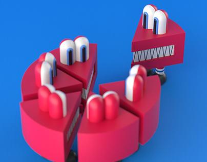 CAKEGATOR Art Toy