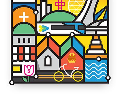 Encore Montréal Illustrations