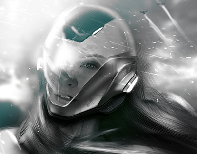 #helmetchallenge Ambiance drawing