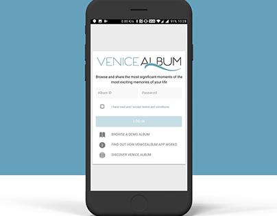 Venice Album App