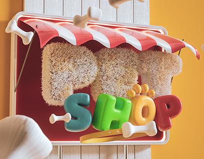 3D - Pet Shop