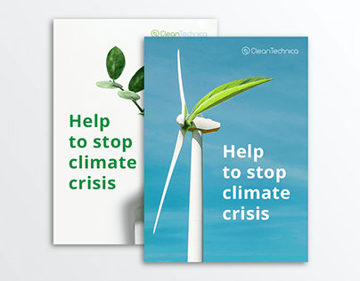 Climate crisis impact campaign – poster, ad, t-shirt