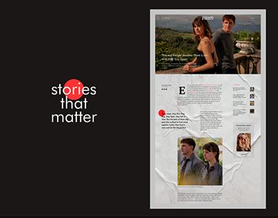 VARIETY // magazine redesign