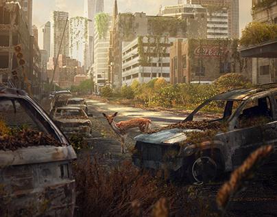 Apocalyptic landscape – Matte Painting
