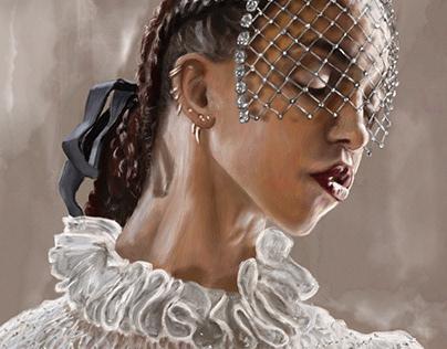 FKA Twigs - Mary Magdalene - by Teresa McDougal
